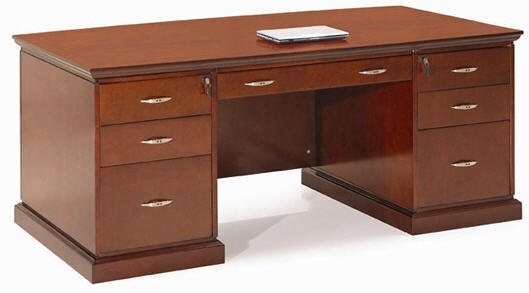 Muebles y escritorios ejecutivos modernos de madera en ele - Escritorios rusticos de madera ...