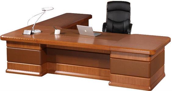 Muebles y escritorios ejecutivos modernos de madera en ele for Precios de muebles para oficina