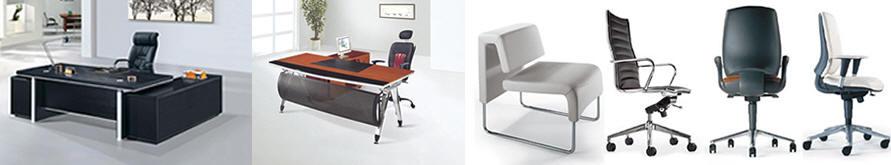 Muebles y escritorios en madera y vidrio formica para for Muebles de oficina usados en lugo